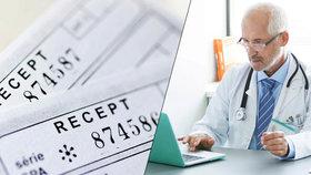 Lékaři tlačí na Sněmovnu kvůli elektronickým receptům. Zvažují i trestní oznámení