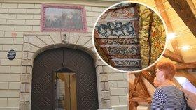 Poklad v historickém domě v Liliové ulici: Co našli restaurátoři při rekonstrukci?
