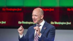 Nejbohatší muž světa Bezos prozradil: Tady je klíč k mému úspěchu