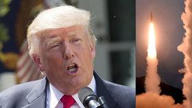 Trump chce zesílit tlak na KLDR. Experti: Raketa doletí až do Los Angeles