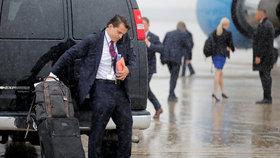 Trump vyhodil svého nového šéfa komunikace. Vydržel 11 dnů