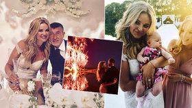 13 fotek, které otřásly Čapím hnízdem: Monika ukázala NEJ momentky ze svatby