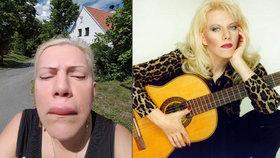 Nepovedený botox? Autorce hitu Pejskové se koušou narostl »zobák«!