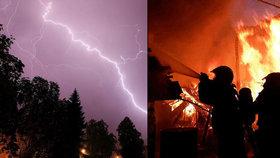 Počasí jak v pekle: Hic přeje požárům, přijdou prudké bouřky. Sledujte radar