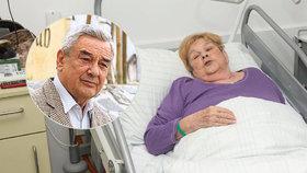 Exmanželka Vinkláře Devátá: Obávám se nejhoršího! Po rakovině zaútočil stafylokok
