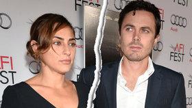 Oscarová hvězda Varů Casey Affleck: Rozvod! Proč manželství zkrachovalo?