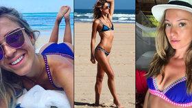 Trapas nebo trend? Kopřivová, Puhajková a další nosí stejné plavky!