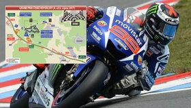 Motorky obrátí Brno naruby! Začíná 52. ročník Grand Prix České republiky