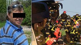 Poslední slova řidiče hrdiny Karla: Držte se, křičel na cestující