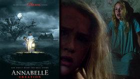 Děsivá panenka Annabelle se vrací i jako první horor, který smíte prožít na vlastní kůži
