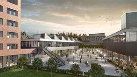 Kontroverzní Centrum Palmovka, kde má sídlit záchranka a radnice: Praha 8 bude jednat o dokončení stavby