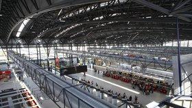 Proměna 2. terminálu letiště Václava Havla skončí letos. Pojme víc lidí