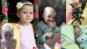 Andulce (5) při léčbě angíny našli nádor. Má metastázy i v kostech