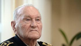 Zemřel hrdina 2. světové války Klemeš. Poslední výsadkář vyslaný z Británie