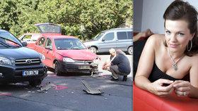 Marta Jandová si může oddychnout: Policie našla viníka její autonehody!