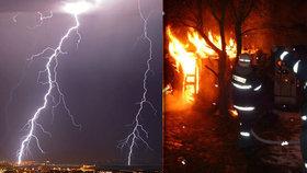 Na severu Itálie řádily bouřky: Požár u Říma zabil dvě ženy!