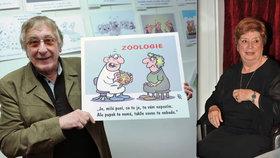 Miriam Kantorková vzpomíná na kreslíře Pavla Kantorka (†75): On tepal komunisty, jeho jmenovec proháněl Zátopka
