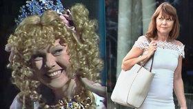 """Princezna Babetka z pohádky """"Co takhle svatba, princi?"""" po 31 letech: Pořád je krásná"""