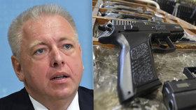 Česko podalo žalobu na EU: Směrnice o zbraních prý ohrožuje bezpečnost země