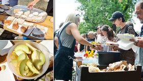 Hody na Štvanici! Pro 500 bezdomovců připravila parta dobrovolníků obří piknik