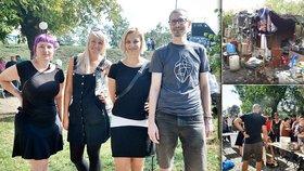 """Kamarádi uspořádali piknik pro bezdomovce: """"Chceme je vytrhout ze stereotypu,"""" říkají"""