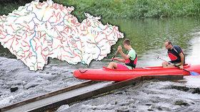 Sucho trápí i vodáky, toky pomalu vysychají. Kam ještě můžete vyrazit na vodu?