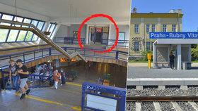 Z metra rovnou na vlak: Na Vltavské otevřeli druhý vchod