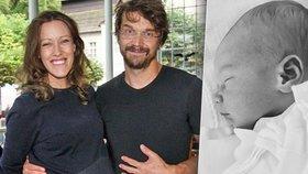 Dan Bárta se stal podruhé tátou! Jeho manželka přivedla na svět syna