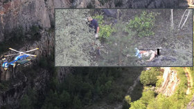 V lomu Velká Amerika našel kolemjdoucí mrtvolu. Policie rozplétá příčinu pádu