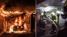 V Jihlavě hoří společnost na zpracování dřeva: Zasahuje 11 jednotek