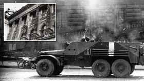 Na Národní muzeum před 49 lety stříleli: Muzeum »jizvy« z doby okupace nezahladí