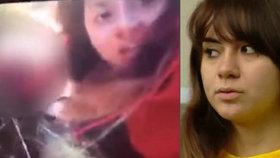 Dívka (18), která opilá zabila sestru (†14) v přímém přenosu: Jsem monstrum, ale dělá to každý