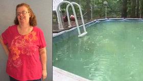 Žena spadla do bazénu, kde zůstala uvězněna tři hodiny: Pomocí tabletu prosila o pomoc