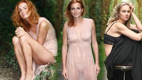 Vyhublé herečky Maurerová se Svátkovou: Fotky do boje s anorexií a bulimií!