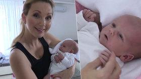 Sandra Parmová 11 dní po porodu: Pochlubila se dcerkou a popsala její narození