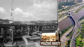 Barrandovský most slaví 30 let. Už při stavbě s ním pomáhaly počítače