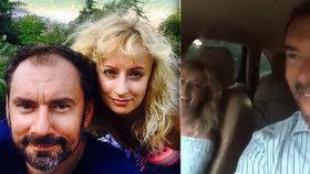 Hunčárová s Ridim zbytečně riskují: Natáčí se při jízdě v autě!
