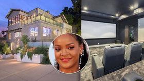 Rihanna si potrpí na luxus: V Hollywoodu má honosné sídlo za 150 milionů