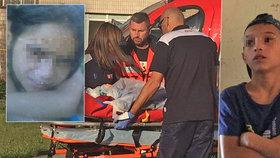 Bratr (12) podpálil sestru Vanessku (9) schválně, tvrdí policie. Dívka skončila s vážnými zraněními