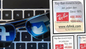 Falešná reklama na sluneční brýle ohrožuje český Facebook. Nutit vám ji mohou i profily kamarádů