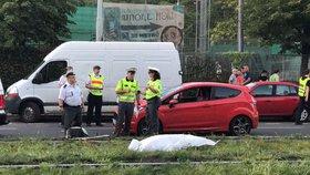 Senior v Bechyni vjel na chodník a srazil ženu (†43): Podlehla zraněním v nemocnici