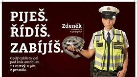 Piješ. Řídíš. Zabíjíš! Smrťáků přibývá, policie v Plzni rozjela kampaň proti alkoholu za volantem
