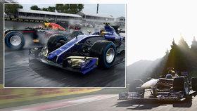 F1 2017 recenze: Závody formulí, které se vážně povedly