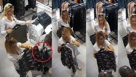 Zlodějky okradly v obchodě v Praze zákaznici: Krádež měly dobře promyšlenou