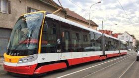 Badeniho ulicí tři dny nepojedou tramvaje. Opraví se koleje, zastávku Chotkovy sady zruší