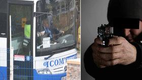 Horor ve Zlíně: Někdo střílel po linkovém autobuse