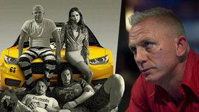 Zapomeňte na luxus a styl! Bond na blond a Elvisova vnučka jsou Loganovi parťáci
