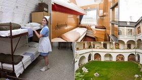 Atomový kryt, vagón i zámek: Netradiční místa v Česku, kde můžete nocovat