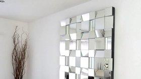Kouzla se zrcadlem. Kam ho umístit, aby domov vypadal vetší a světlejší?