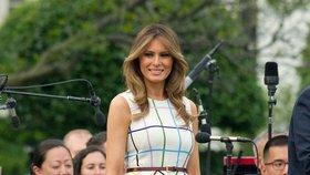 Melania Trump v nemocnici: Náhlá operace ledviny,  nezhoubný nález